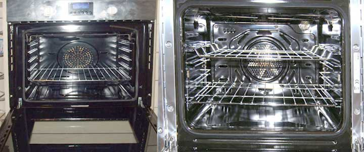 Ovens after cleaning