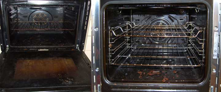 Ovens before cleaning